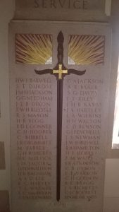 Oundle School War Memorial. (Oundle School)