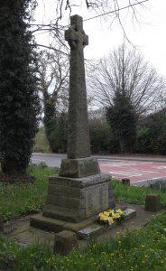 Llanymynech War Memorial.