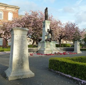Macclesfield War Memorial. Private 202036 George Evans.