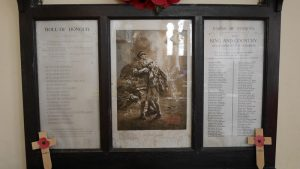 Roll of Honour Ddeudur XX CHURCH (JW)