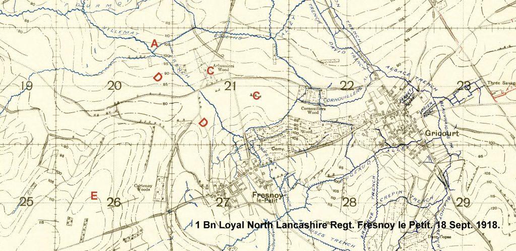 Battle of Epehy. Fresnoy-le-Pe. 1 Bn Loyal North ... on battle of pozieres, battle of hazebrouck, battle of somme 1916, battle of amiens 1918, battle of ancre 1918, battle of sari bair, battle of gallipoli 1915, battle of bailleul, battle of cantigny, battle of passchendaele, battle of somme 1918, battle of arras, battle of cambrai, battle of hindenburg line,